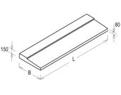 Масса балконных плит