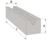 Масса бетонных блоков