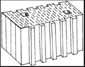 Масса керамических блоков