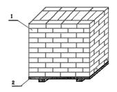 Масса кубического метра кирпича