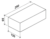 Масса одинарного силикатного кирпича
