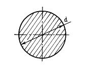 Масса круглого прутка 45 (мм)