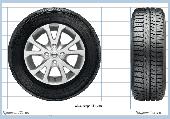 Общий вид колес