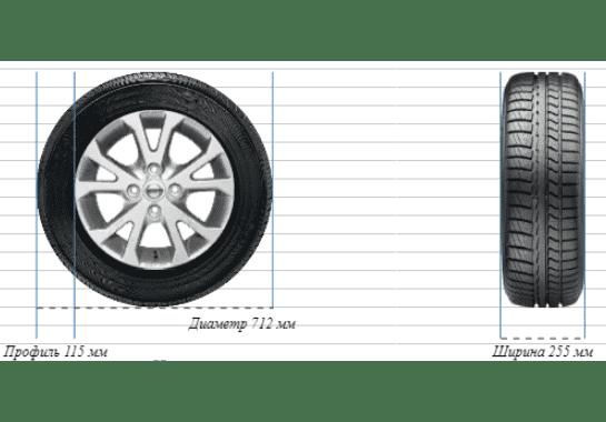 Масса колес Bentley 255/45R19 min